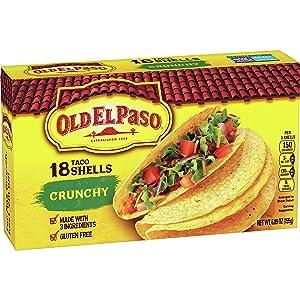 Old El Paso Crunchy Shells 18 ct, 6.89 oz