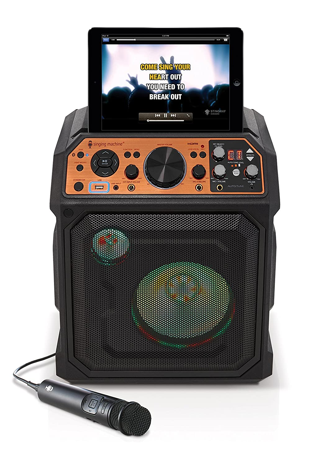 Singing Machine Studio All-In-One Entertainment System (SDL2093)