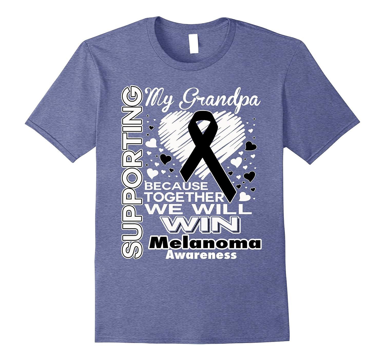 Supporting My Grandpa - Melanoma Awareness shirt-Vaci