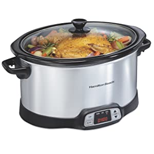 Hamilton Beach 8 Quart Programmable Countdown Slow Cooker (33480)