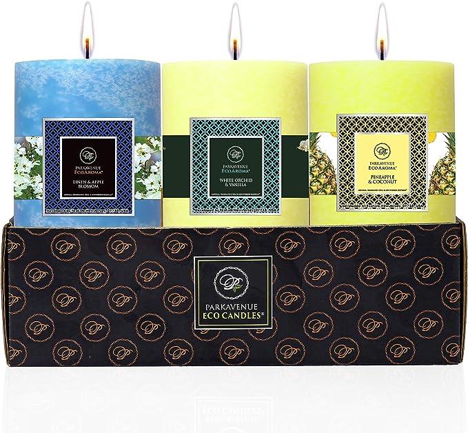 Park Avenue Eco Candles - 3 Set