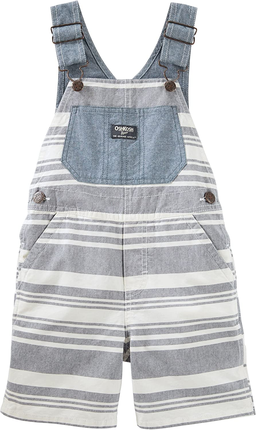 New Carter/'s Baby Boys 1 Pc Short Sleeve Striped Print Rompers Shortalls
