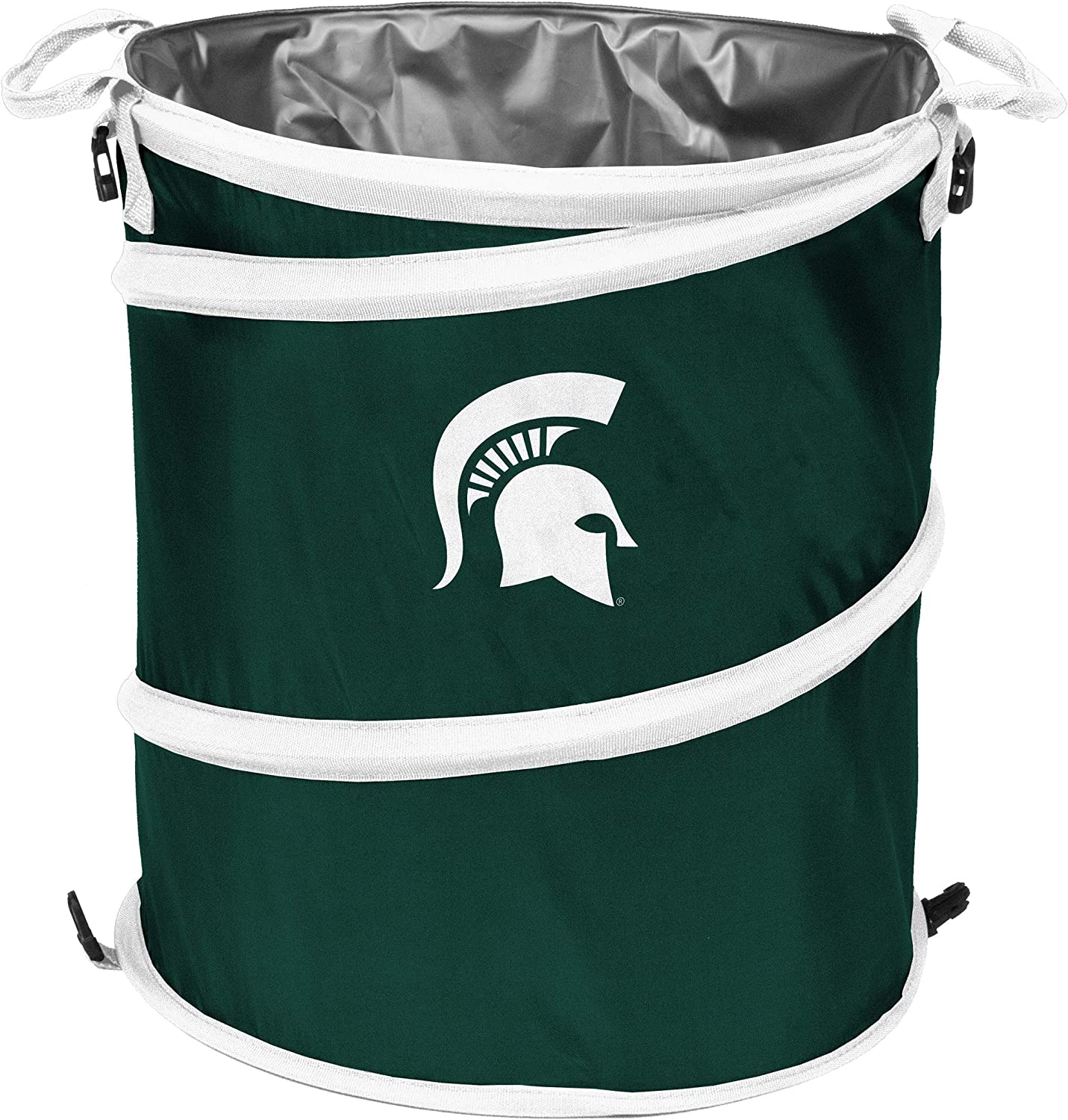 NCAA Michigan State Spartans Large Square Plastic Container