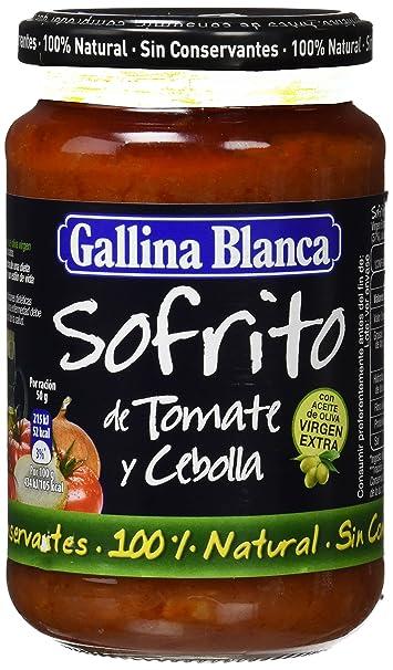 Gallina Blanca - Sofrito de Tomate y Cebolla,: Amazon.es ...