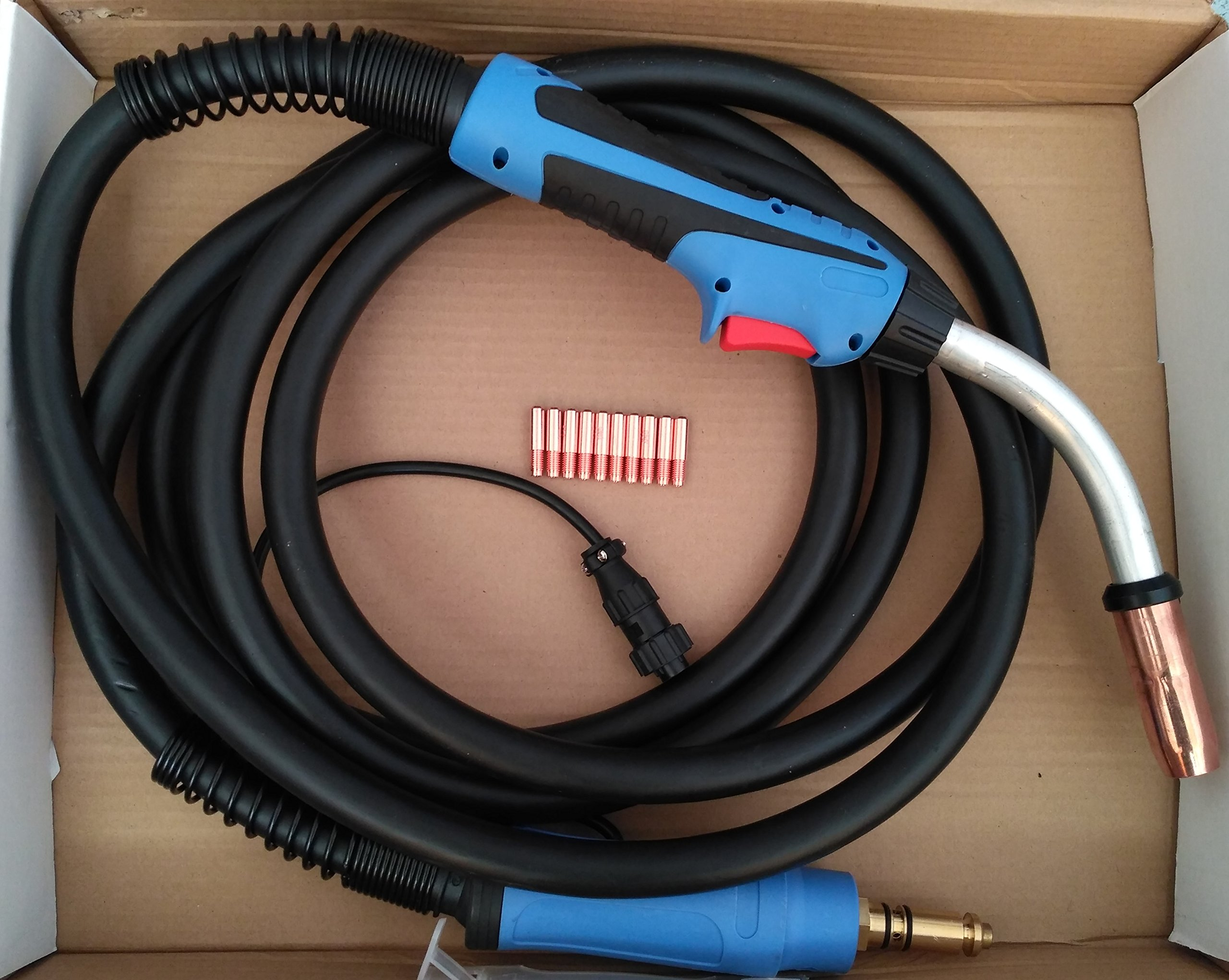 MIG WELDING GUN & TORCH,15' 400AMP for LINCOLN machines,replacement for Tweco #4 (ETA:5-10 WORK DAYS)