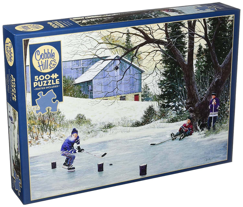 輝く高品質な Cobblehill Puzzles 500pc - - Hockey Puzzles Drills Drills B07B4JKTKC, タザワコマチ:5cc9fd46 --- a0267596.xsph.ru