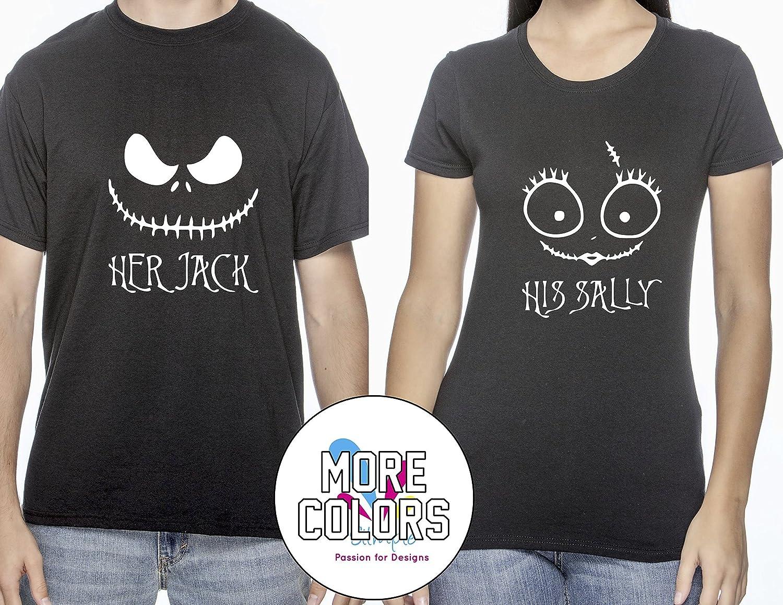 Amazon.com: Her Jack/His Sally Nightmare Before Christmas Romantic ...