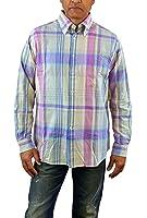Hart Schaffner Marx Mens Long Sleeve Woven Shirt Medium, Lavender