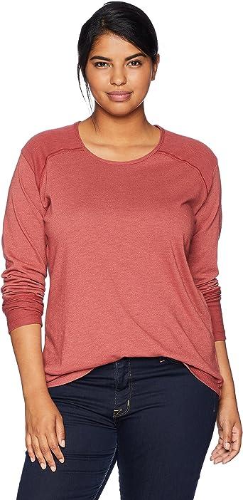 Columbia Easygoing II Plus Size Long Sleeve Shirt Camiseta para Senderismo, Granate Rojo, 6X-Large para Mujer: Amazon.es: Ropa y accesorios