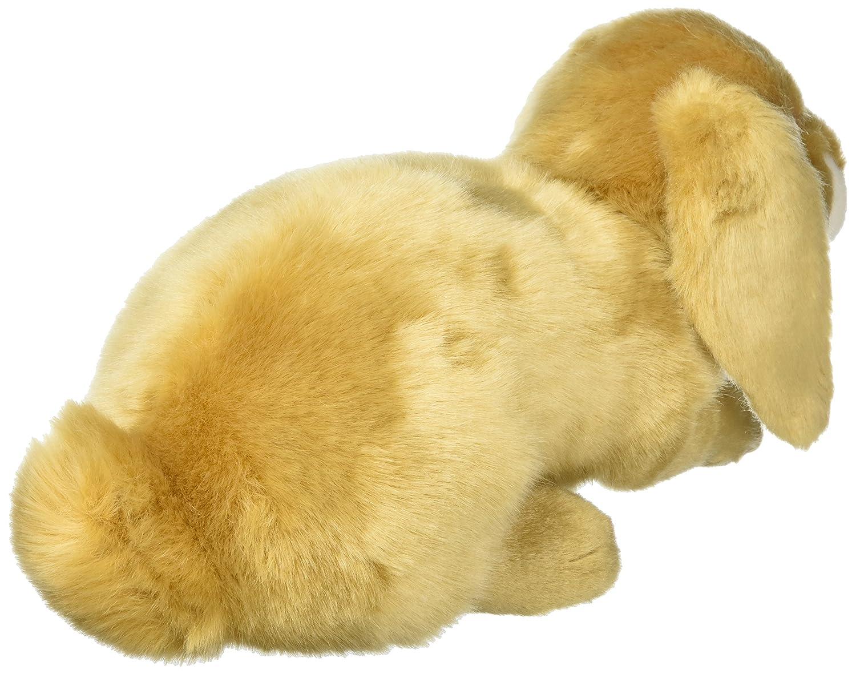 DEMDACO Doleful Small Lop Ear Bunny Light Brown Childrens Plush Stuffed Animal Toy 5004730325