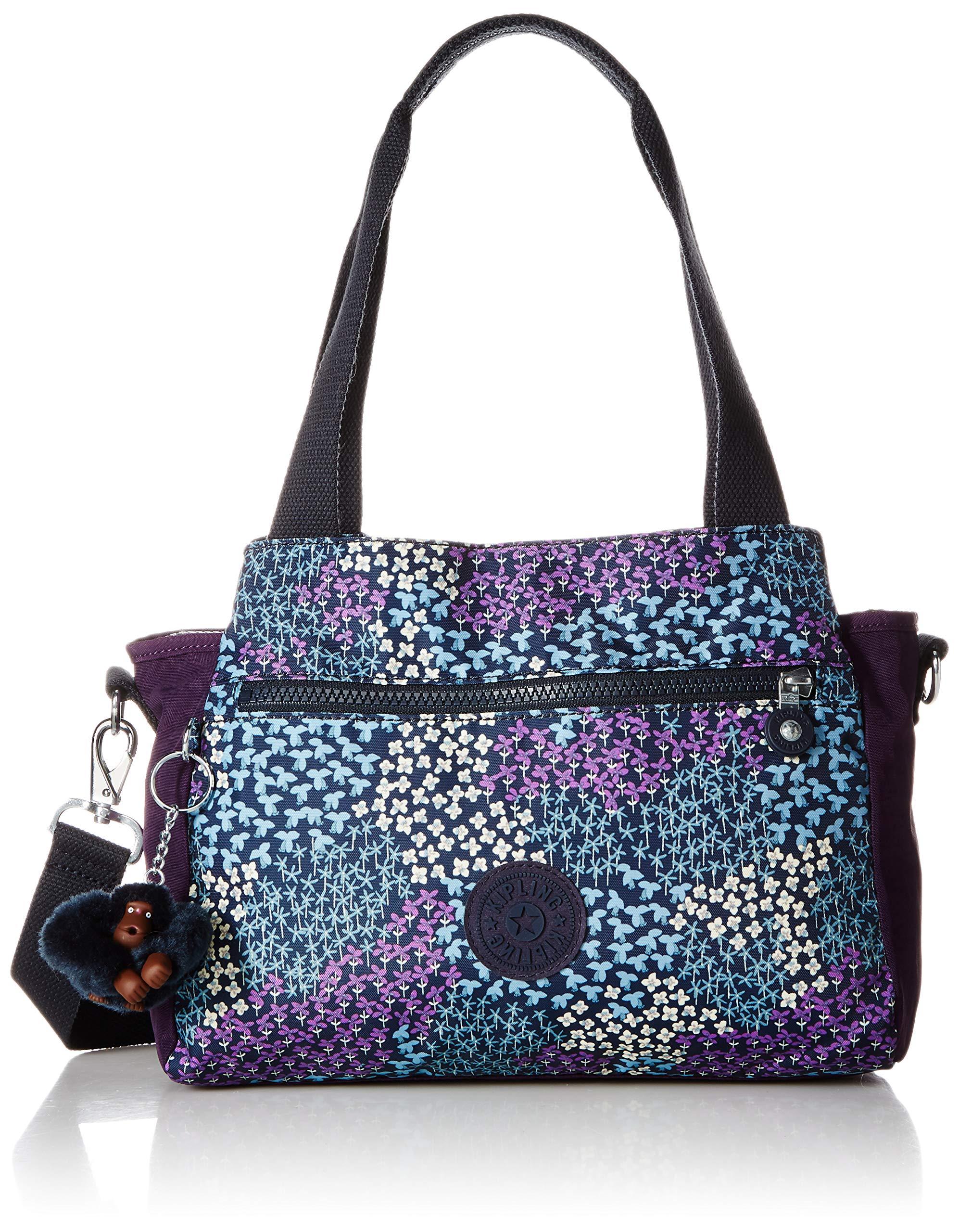 Kipling Elysia Printed Handbag, Dotted Bouquet, Combo