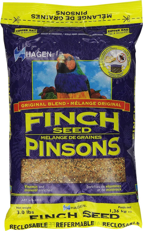Hagen Finch Staple Vme Seed, 3-Pound