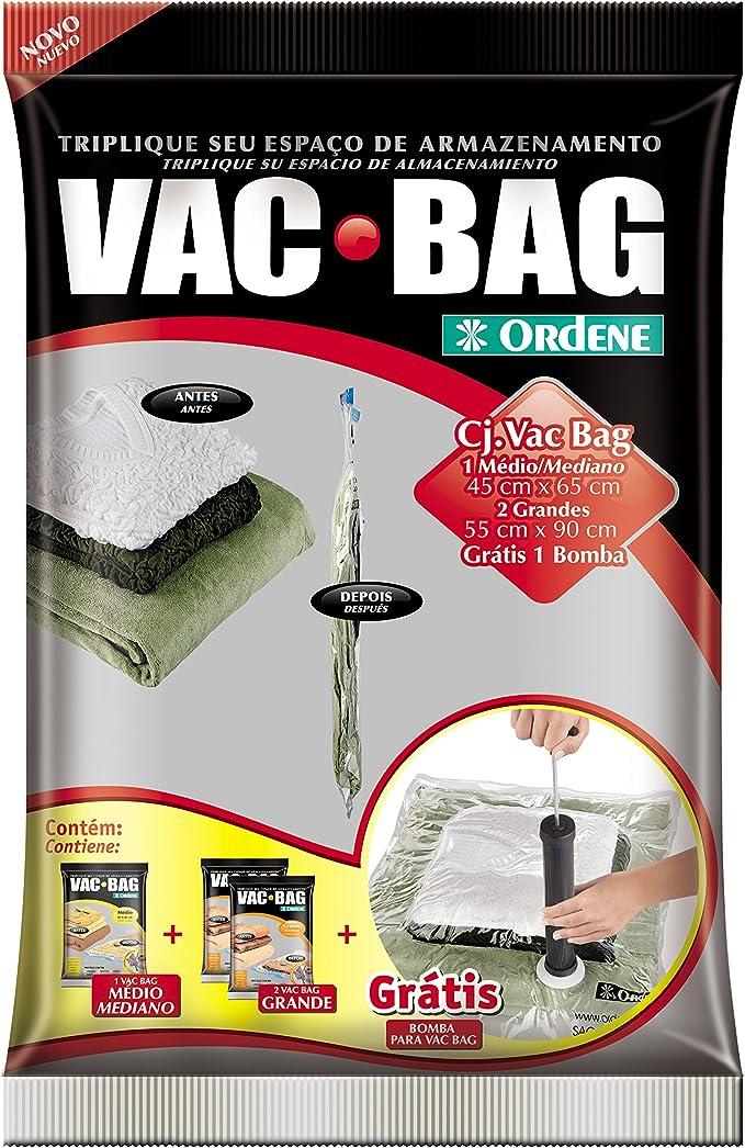 Conjunto Armazenamento à Vácuo, Vac Bag, 1