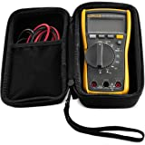 Caseling Hard Case fits Fluke 117 or 115 True RMS Digital Multimeter Compact (Not for Fluke 101 106 107)