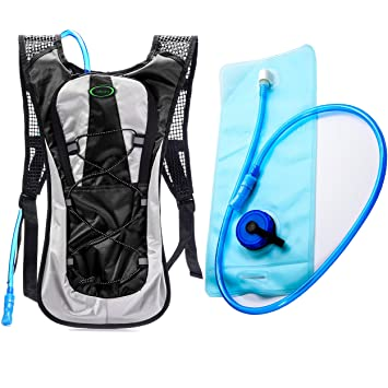 Amazon.com : Hydration Backpack--Juboury Water Rucksack Bladder ...
