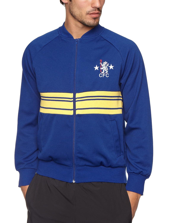 Score Draw Official Retro Chelsea 1984 Herren Fußball Track Jacket