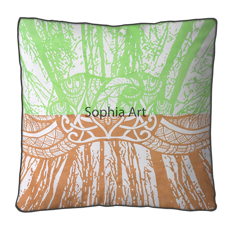 Amazon.com: Sofía Art Bohemia Yoga Meditación Grande Cama ...