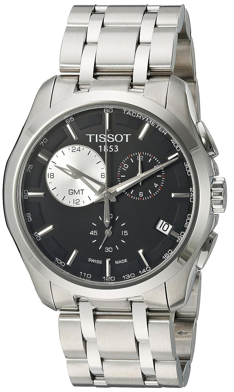 Tissot Men s T035.439.11.051.00 Black Dial Couturier Watch