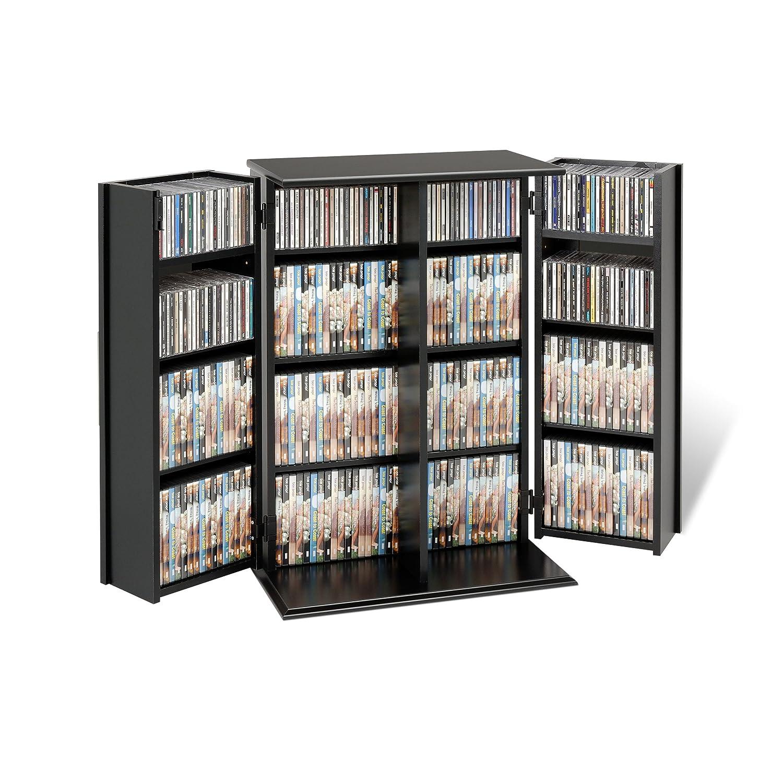 Wonderful Amazon.com: Espresso Locking Media Storage Cabinet With Shaker Doors: Home  U0026 Kitchen