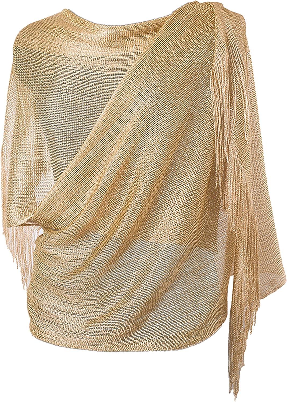 DiaryLook El abrigo de la noche de la mujer robó el mantón para la boda, los partidos, la dama de honor, la bufanda del baile de fin de curso con la franja
