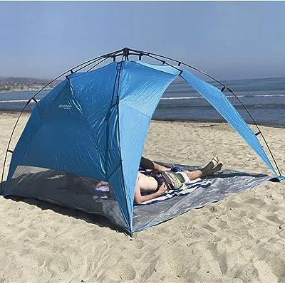 Beach Umbrella Tent Pop Up Canopy