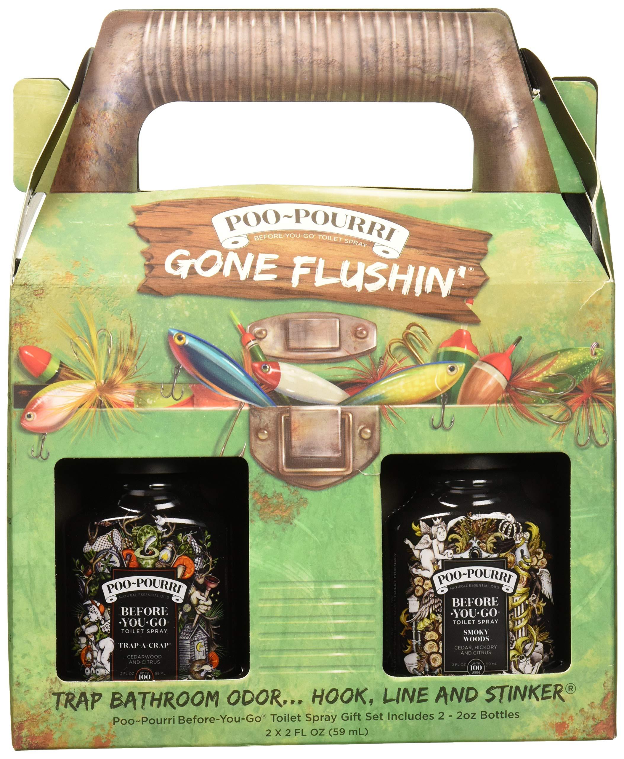 Poo-Pourri Gone Flushin Before You Go Toilet Spray Gift Set in Tackle Box
