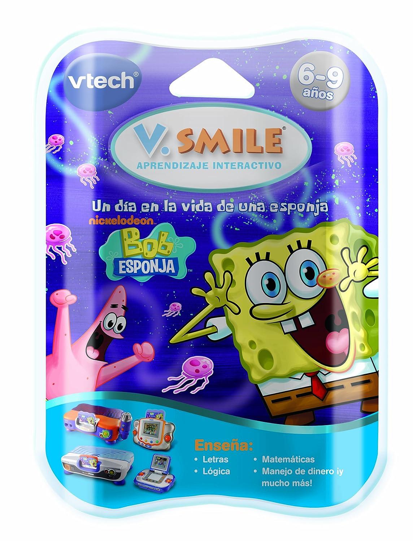VTech V Smile Juego educativo Bob Esponja para V S Motion
