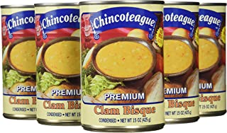 product image for Chincoteague Seafood Clam Bisque, 15-Ounce Cans (Pack of 12)