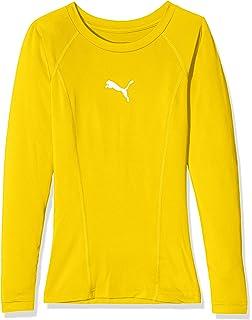 f40e1e43 Puma Liga Base Layer LS Shirt, Unisex, Liga Baselayer Tee Ls: Amazon ...