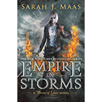 Empire of Storms (Throne Of Glass Series Book 5) book cover