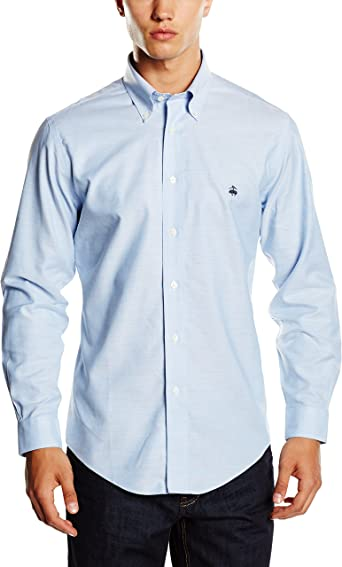 Brooks Brothers Sport Non-Iron Oxford Slim - Camisa para hombre ...