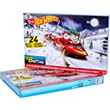Hot Wheels Advent Calendar 2015 with 8 Cars and 16 Accessories