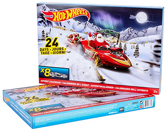 Weihnachtskalender Hot Wheels.Amazon Com Hot Wheels Advent Calendar Playset Toys Games
