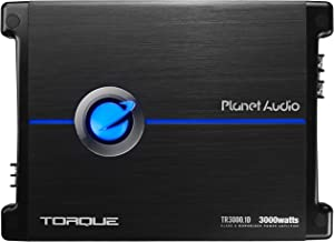 Planet Audio TR3000.1D Class D Car Amplifier - 3000 Watts, 1 Ohm Stable, Digital, Monoblock, Mosfet Power Supply, Great for Subwoofers