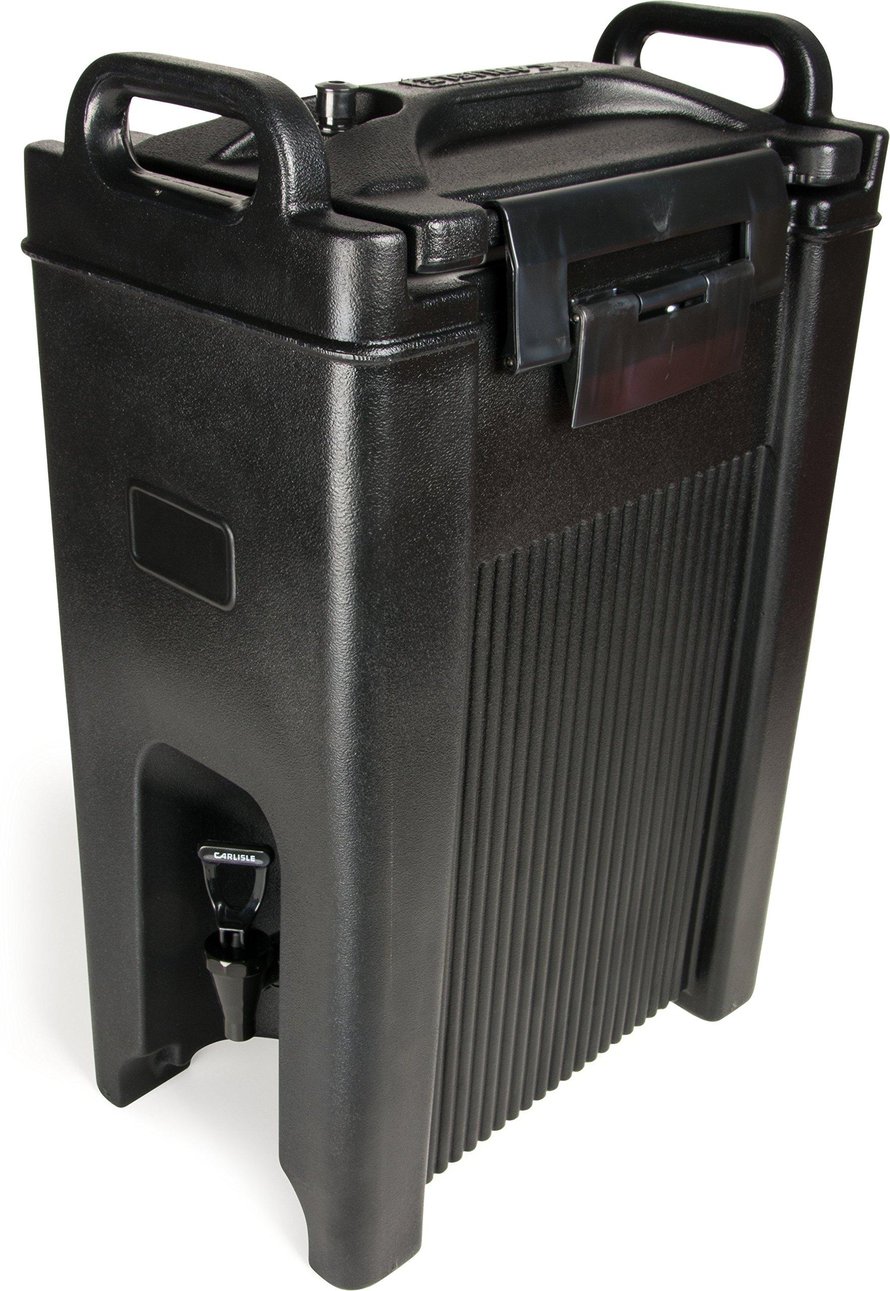 Carlisle XT500003 Cateraide Insulated Beverage Server Dispenser, 5 Gallon, Black