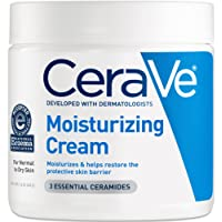 CeraVe - Moisturizing Cream - Daily Face and Body Moisturizer for Normal to Dry Skin - 16 oz - 453g