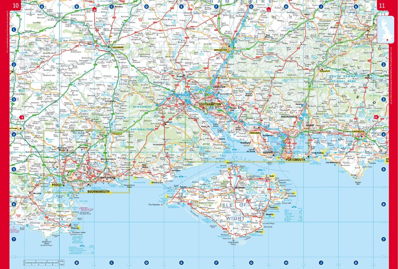 2018 Collins Big Road Atlas Britain Collins Road Atlas: Amazon.de ...