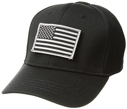 Condor Flex Tactical Cap (Black) + FREE Stitched Flag   Warrior Patch (Small 1fec00144d