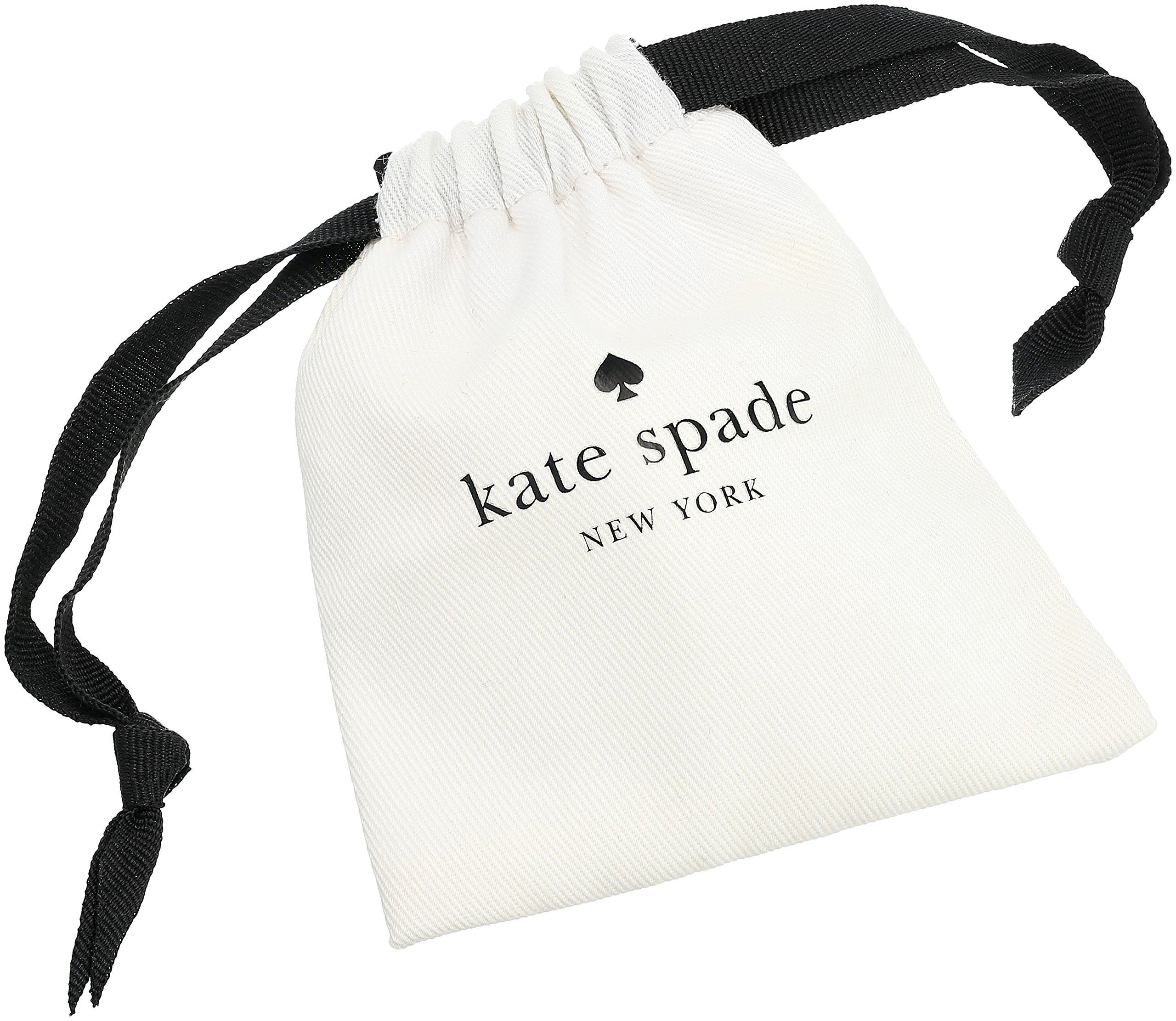 kate spade new york Pave Knot Clear/Gold Stud Earrings by Kate Spade New York (Image #3)
