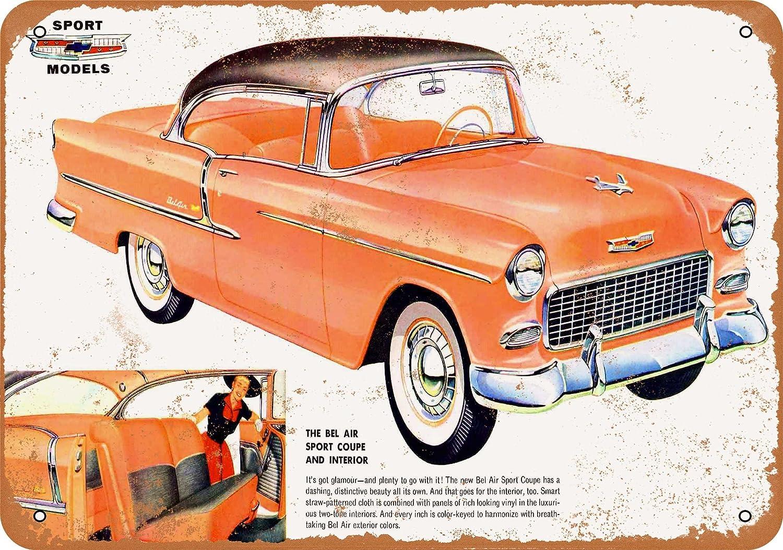 "Hot Wheels 1955 Belair Metal Sign 9/"" x 12/"""