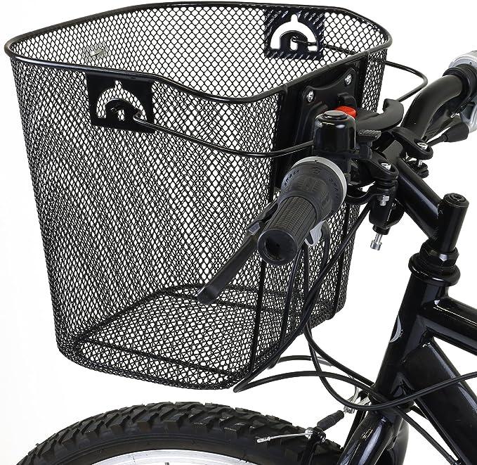 PedalPro - Cesta de compra para bicicleta (de rejilla metálica ...