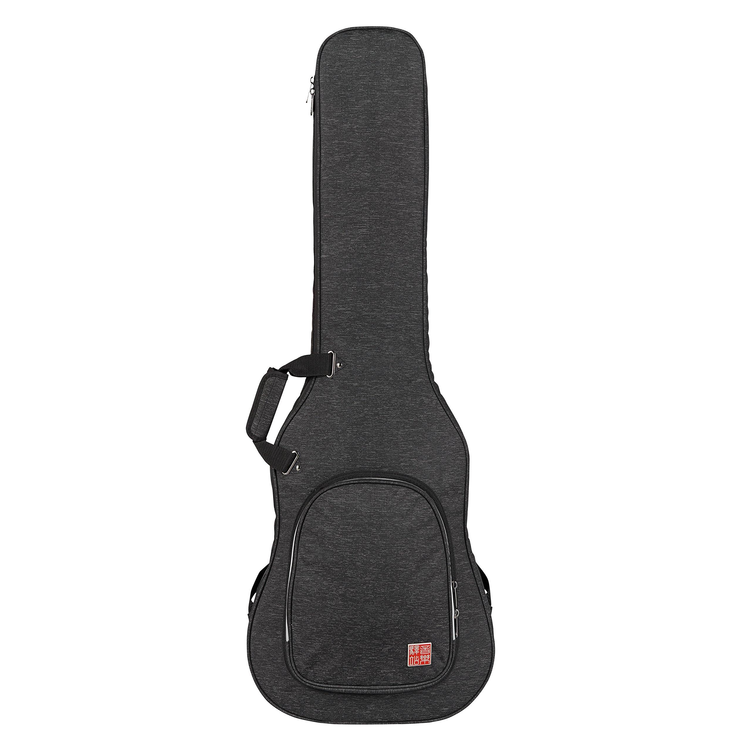 Music Area RB20-EB-BLK Series Bass Guitar Bag, Black