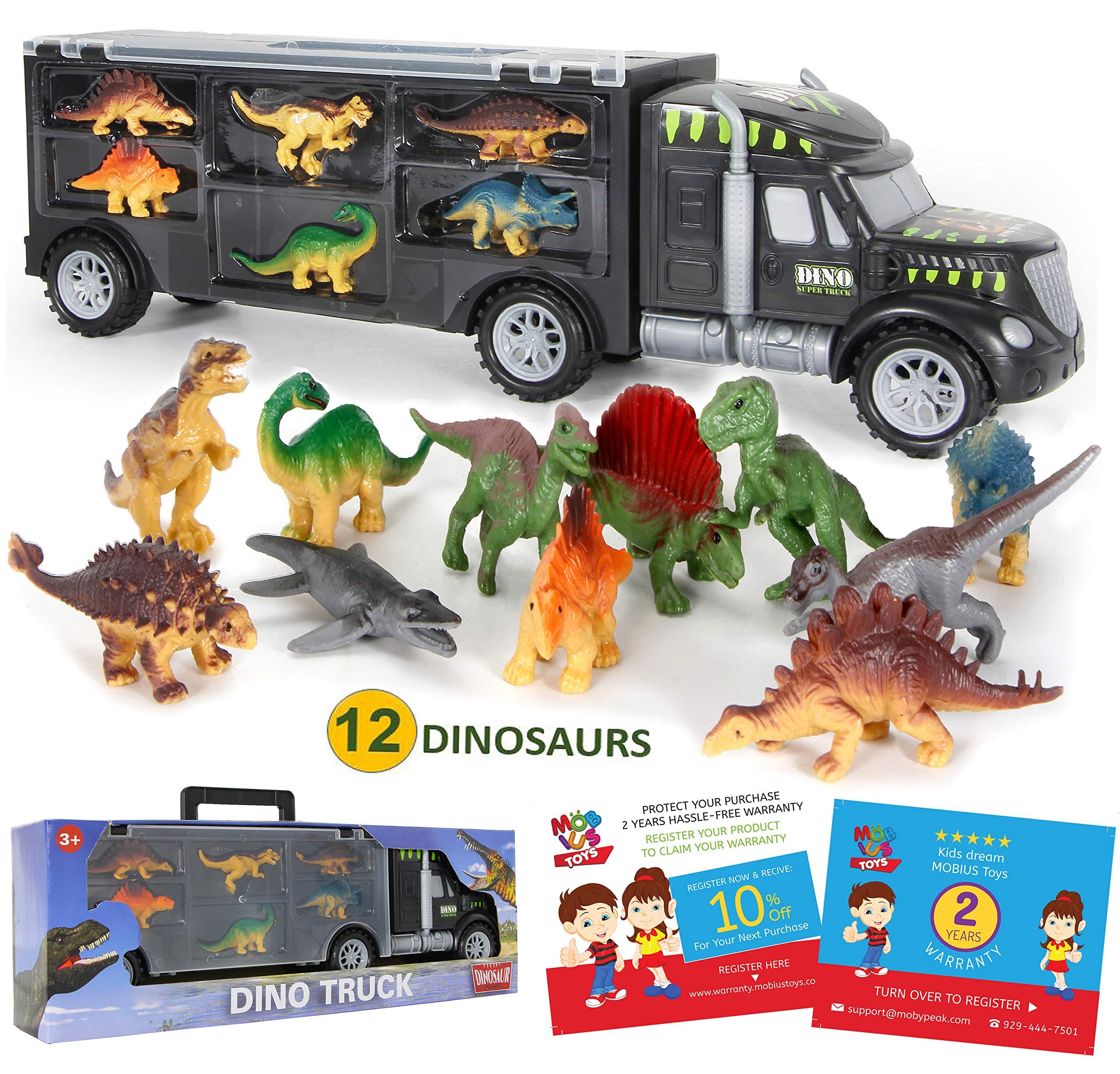 Dinosaur Truck Carrier 12 Toy Dinosaur Buy Online In Brunei At Desertcart