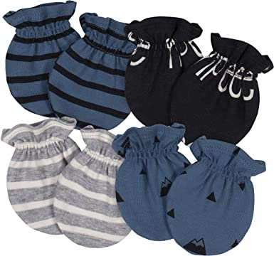 Gerber Baby 4-Pack Mittens