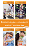 Harlequin Superromance August 2017 Box Set: For Joy's Sake\About That Kiss\Ethan's Daughter\Undercover with the Heiress