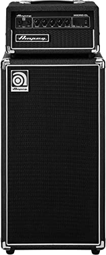 Ampeg Micro CL 100-watt Bass Amplifier Stack