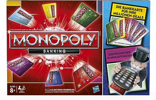 Hasbro - Monopoly electrónico - Juego de Tablero (versión en alemán): Amazon.es: Juguetes y juegos