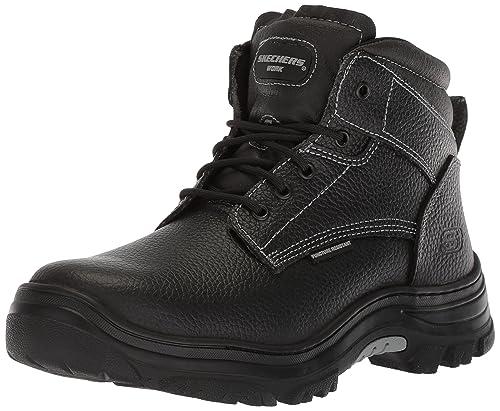 8b96641af51 Amazon.com | Skechers Men's Burgin-Tarlac Industrial Boot ...