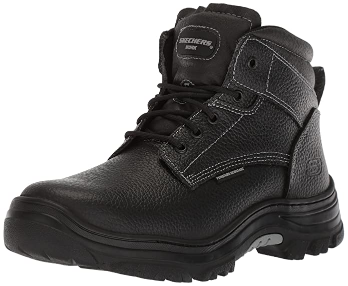 Skechers Work Burgin - Tarlac Steel Toe Boot (Mens)