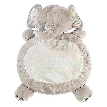 Unimall Nido bebe Suave cómodo niño Playmate peluches felpa juguetes borrosos Elefante Mat para bebés recién